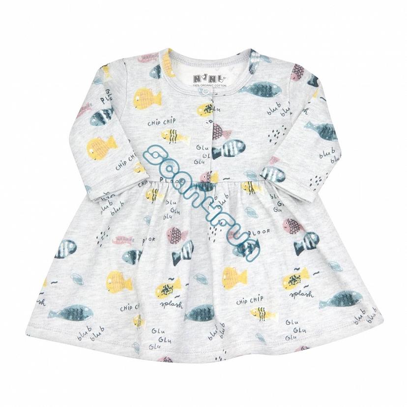 NiNi Sukienka niemowlęca dziewczęca ABN-2512