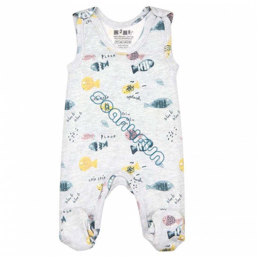 NiNi Śpiochy niemowlęce dziewczęce ABN-2504